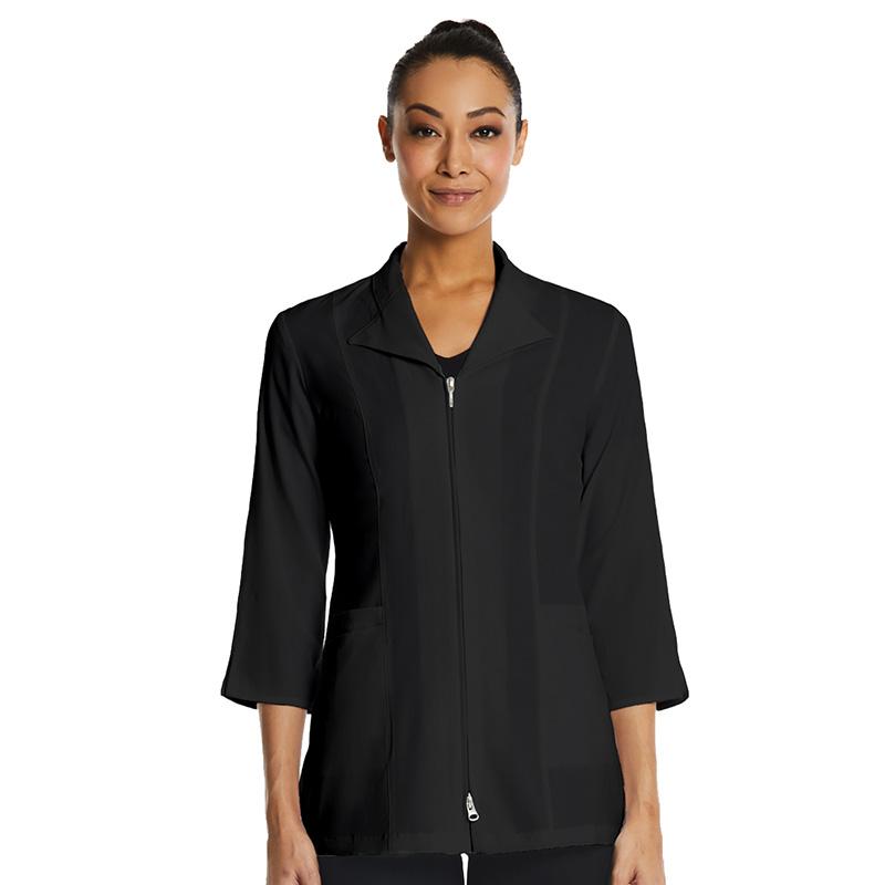 3/4 Sleeve Zip Lab Jacket-Maevn
