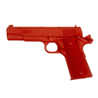 Government .45 Training Red Gun-ASP