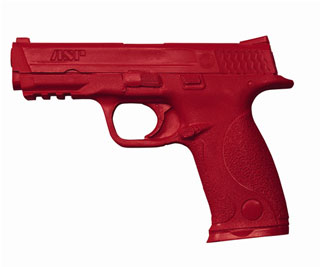 S&W M&P 9mm/.40 Training Red Gun-
