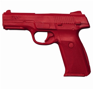 Ruger SR9 Training Red Gun-