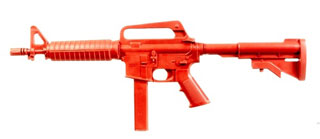 Government SMG Training Red Gun-