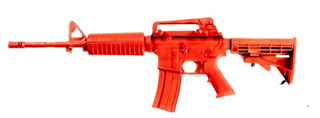 Government Carbine (Sliding Stock) Training Red Gun-