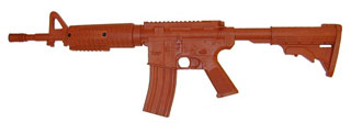 Government Carbine Flat Top Training Red Gun-