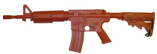 Government Carbine Flat Top (Sliding Stock) Training Red Gun