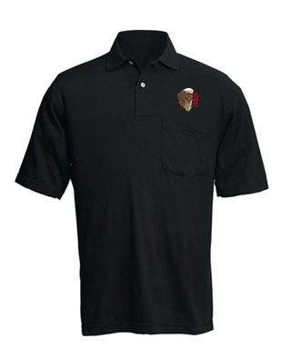 Tactical Training Embroidered Black Instuctor Eagle Shirt-ASP