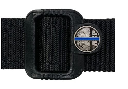 "10216 Blue Line Logo Belt (1.5"")-"