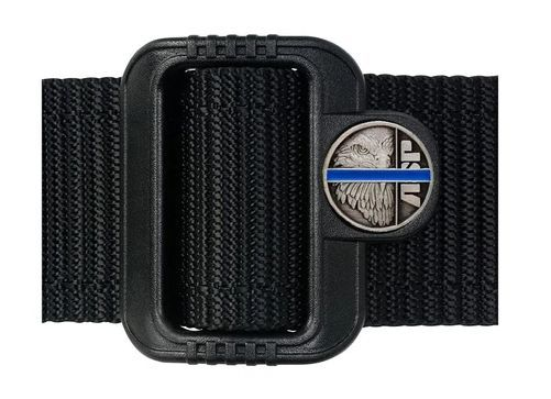 "10516 Blue Line Logo Belt (1.75"")-"