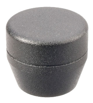 Textured Black Grip Cap-