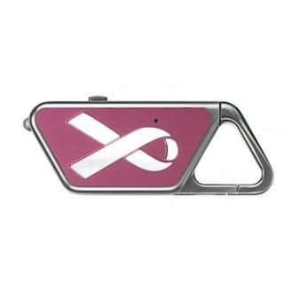 Sapphire USB, Pink Ribbon (Diamond Cut)-