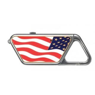 Sapphire USB, American Flag-ASP