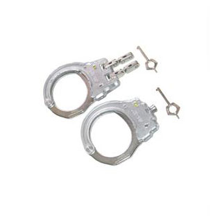 ClearView Cutaways Hinge Handcuff-