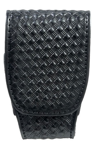 Basketweave Duty Handcuff Case-