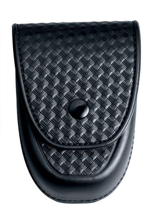 Basketweave Centurion Rigid Handcuff Case-