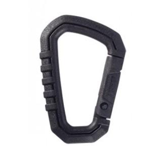 Black Mini Carabiner (Polymer)-