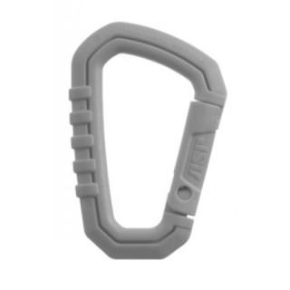 Gray Mini Carabiner (Polymer)-ASP