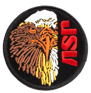 59103 ASP Eagle Color Patches(Iron-On)-