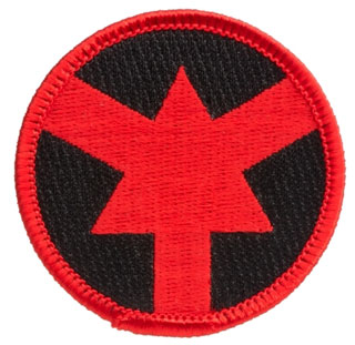 ASP Red Arrow Certified Officer Patch-