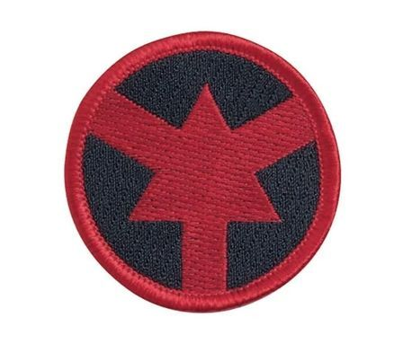 """59132 ASP Eagle Color Patches (Hook & Loop) Red Arrow (2.25"""")-"""