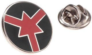 ASP Red Arrow Certified Handcuff Lapel Pin-
