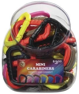 Mini Carabiner Bin (Assortment of 50)