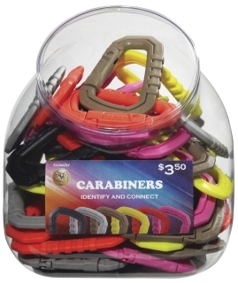 81298 Carabiner (Assortment of 50) BINS-