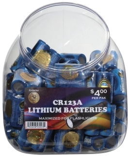 Battery Bin (Includes 100 Batteries)-