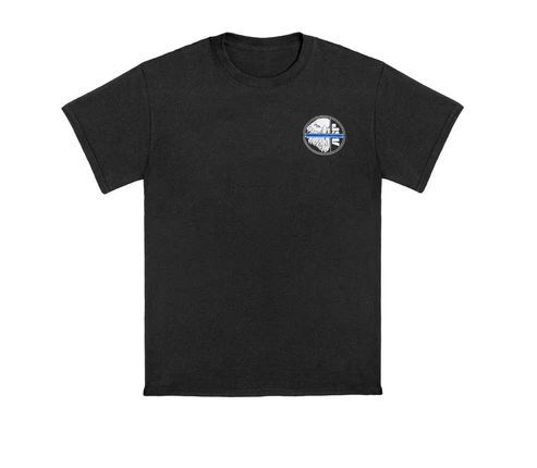 9603 Blue Line ASP Eagle Cotton Tee-