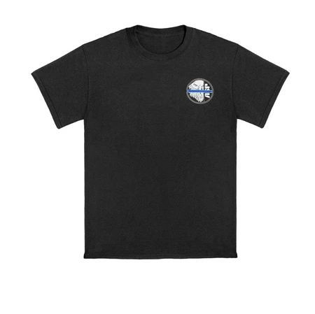 9604 Blue Line ASP Eagle Cotton Tee-
