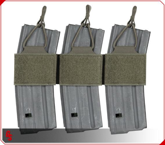 armor express busch peraflex m16/m4 triple mag pouch