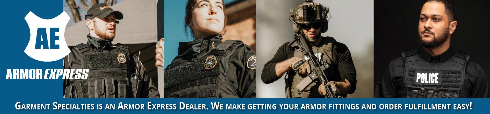 garment specialties is an armor express dealer