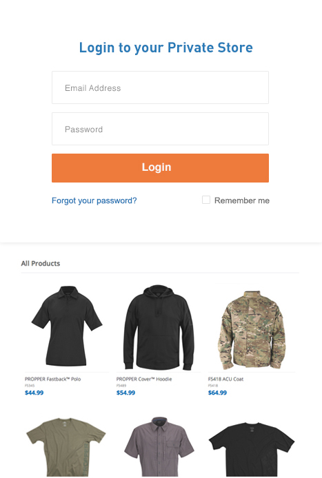 Retailer B2B Sites