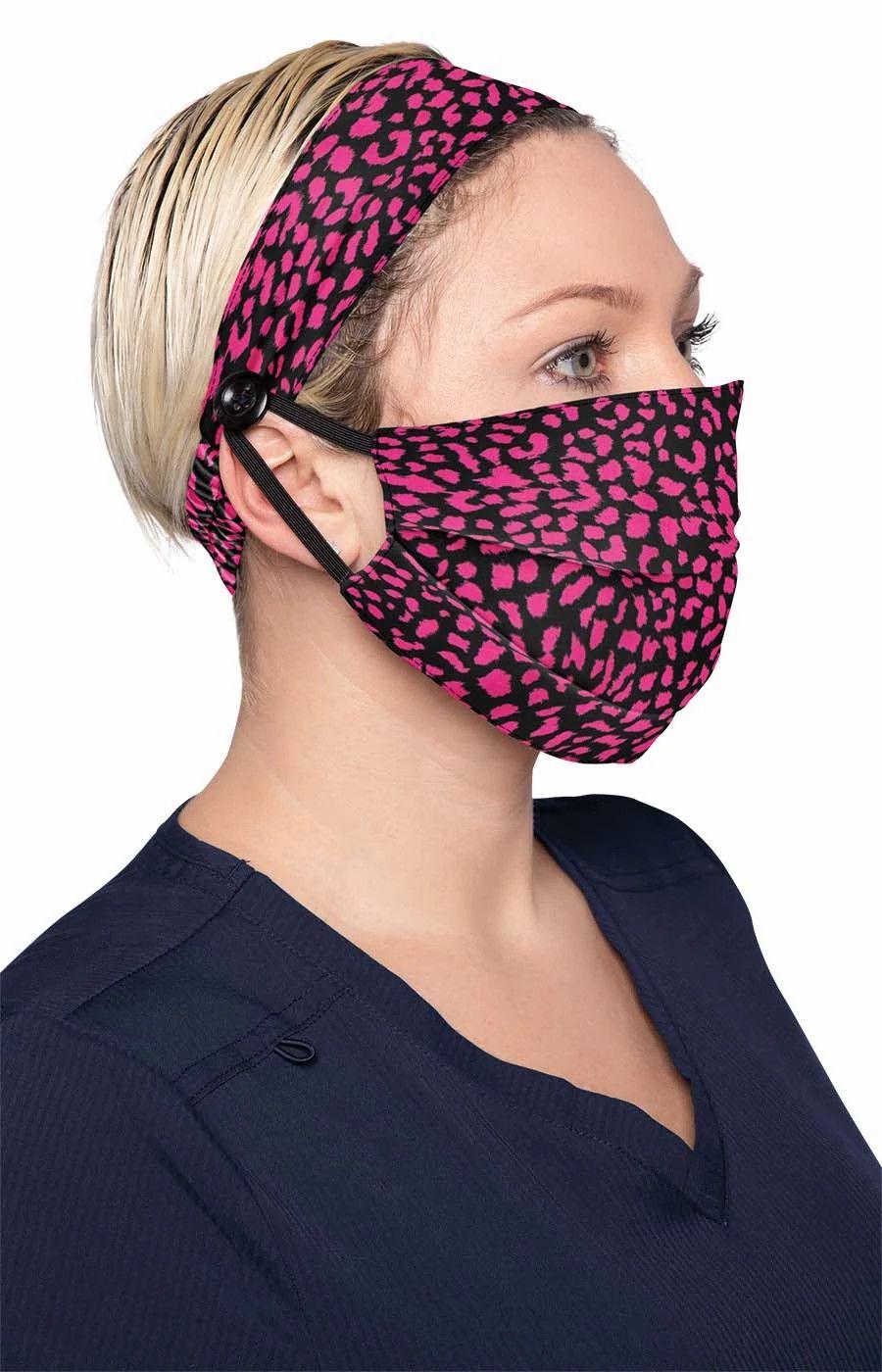 Fashion Mask + Headband Set Animal-KOI