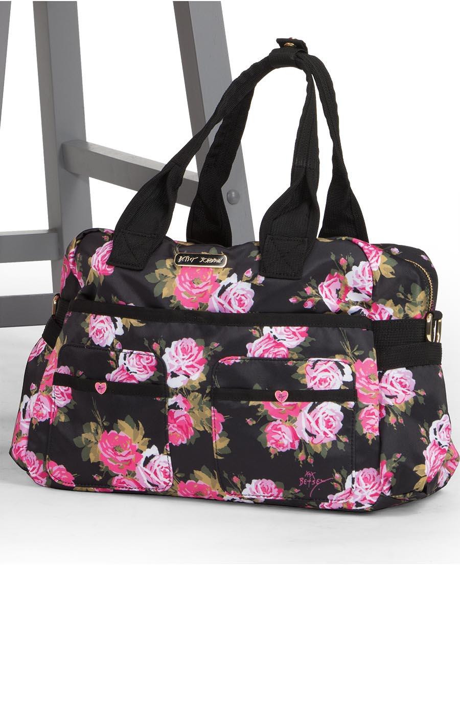 Koi Betsey Printed Utility Bags – Beautiful Rose-KOI