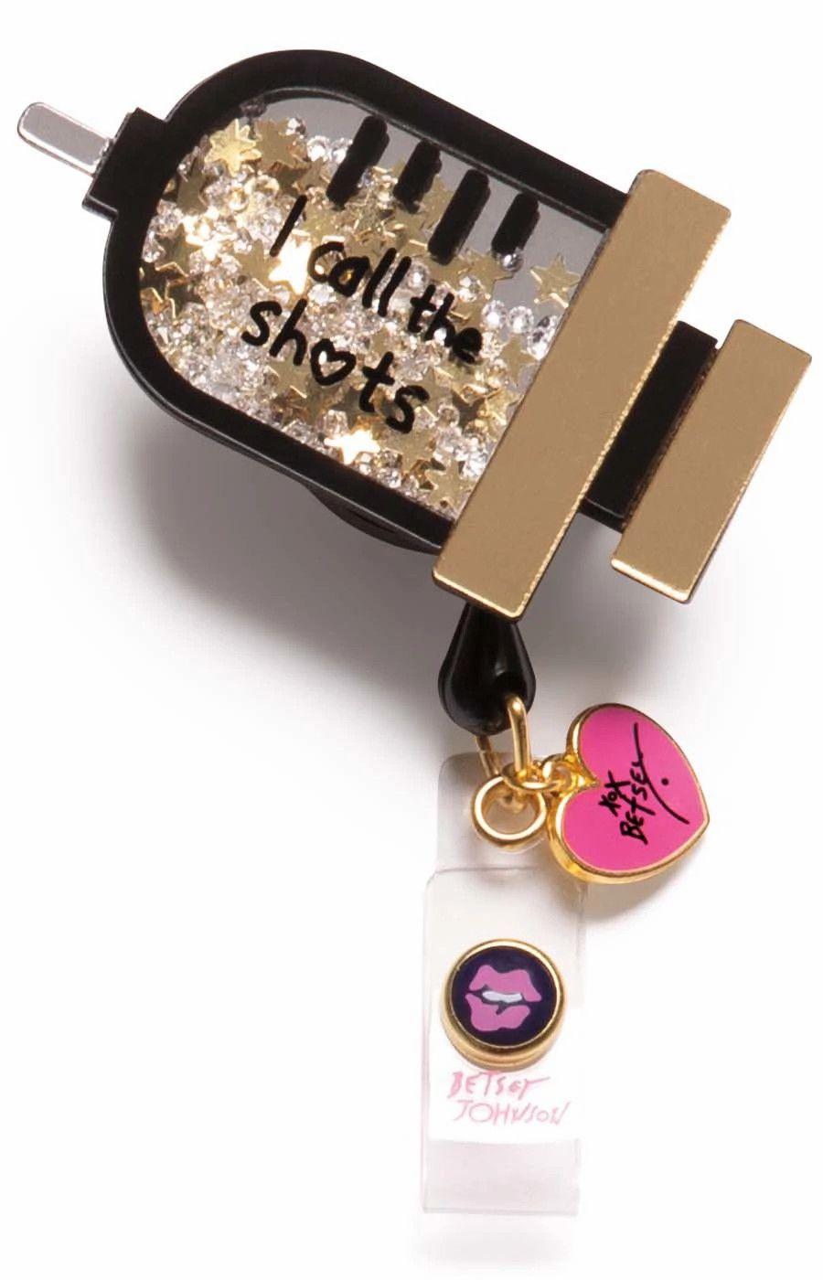 Betsey Retractable Badges Syringe-KOI