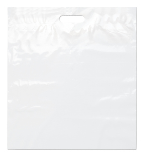 Die Cut Handle Bag-18 X 20 X 4-Flexo Ink Imprint