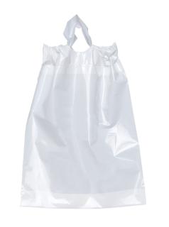 Poly Draw Bag-12 X 15 X 3-Flexo Ink Imprint