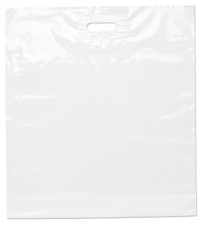 Die Cut Handle Bag-22 X 24 X 5-Flexo Ink Imprint-Bag Makers