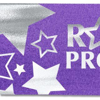 """Badge Satin Ribbon -1 1/2""""-Foil Hot Stamp-Bag Makers"""