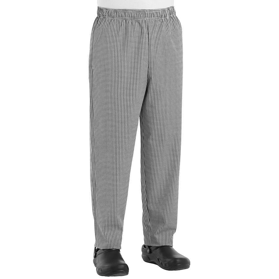 Checkered Baggy Chef Pant