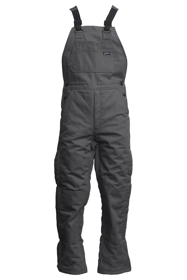 12oz. FR Insulated Bib Overalls | 100% Cotton Duck-Lapco