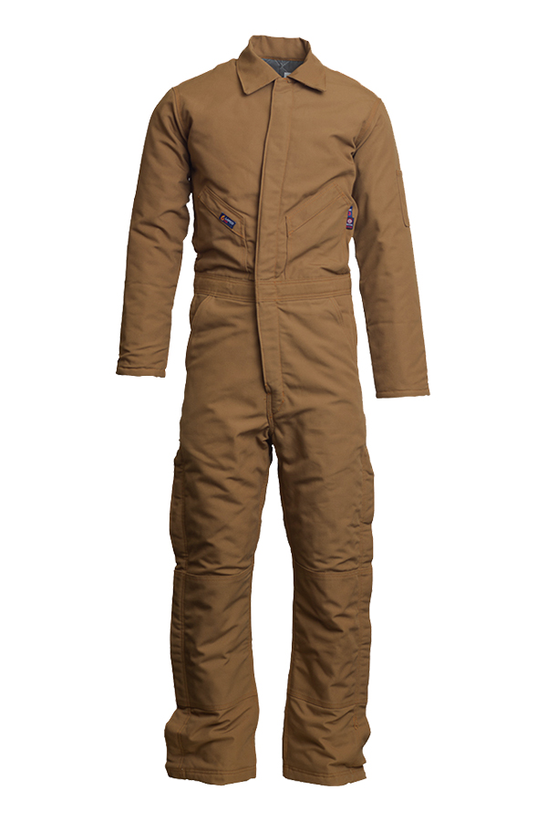 12oz. FR Insulated Coveralls | 100% Cotton Duck-Lapco