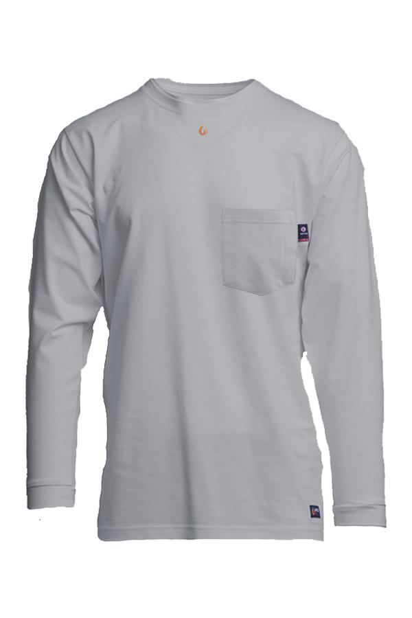 6oz. FR Pocket T-Shirts | 93/7 Knit-Lapco