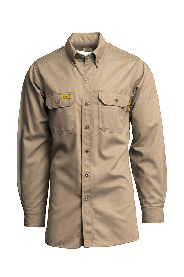 Lapco - 7oz. FR Advanced Comfort Uniform Shirts | 88/12 UltraSoft AC®-Lapco