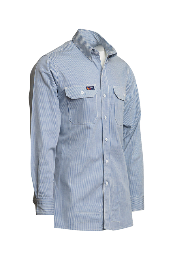 FR Striped Uniform Shirts | 7oz. 100% Cotton-