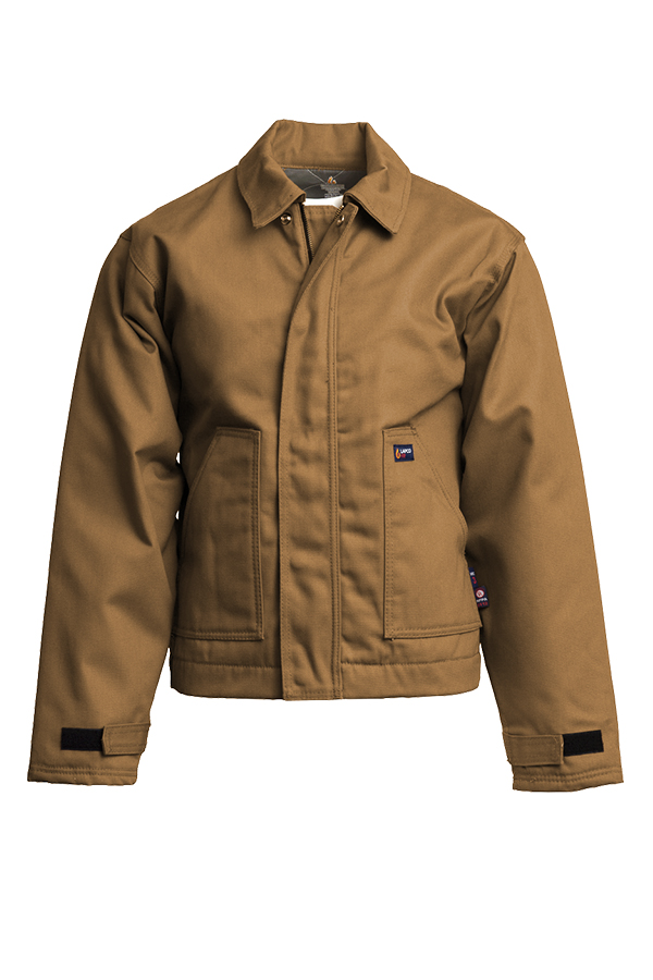 12oz. FR Insulated Jackets | 100% Cotton Duck-Lapco