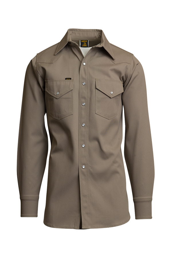 10oz. Heavy-Duty Welding Shirts | Non-FR | 100% Cotton Twill