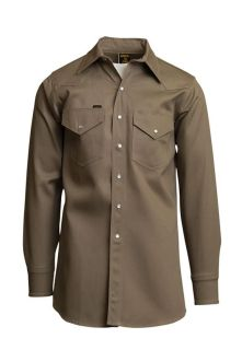 8.5oz. Mid-Weight Welding Shirts | Non FR | 100% Cotton-Lapco