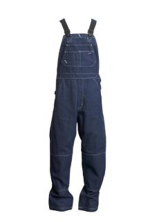 FR Denim Bib Overalls | 100% Cotton-