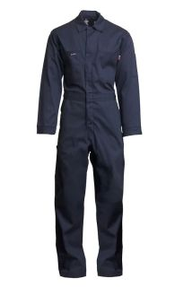 9oz. FR Welding Coveralls | 100% Cotton-Lapco