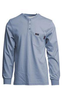 FR Henley Tees | 7oz. 100% Cotton Jersey Knit-